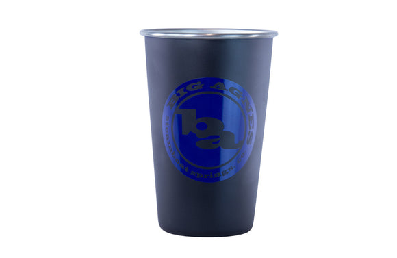 Logo Stainless Pint Cup