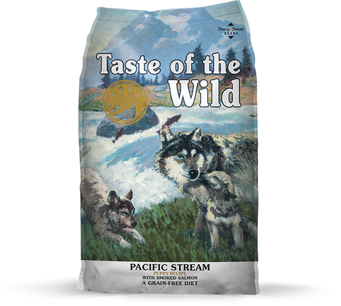 Taste Of The Wild Pacific Stream Smoked Salmon Puppy Dry Food