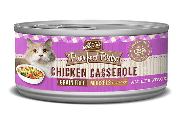 Merrick Purrfect Bistro Chicken Casserole Grain Free Canned Cat Food