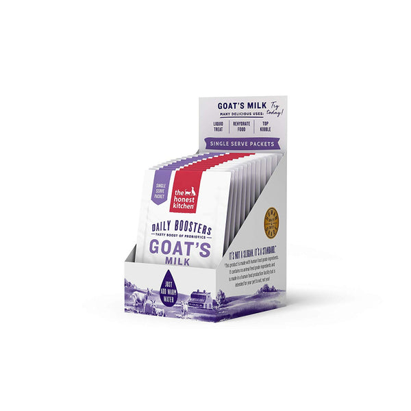 The Honest Kitchen Daily Boosters Probiotic Goat's Milk Liquid Treat for Dogs and Cats