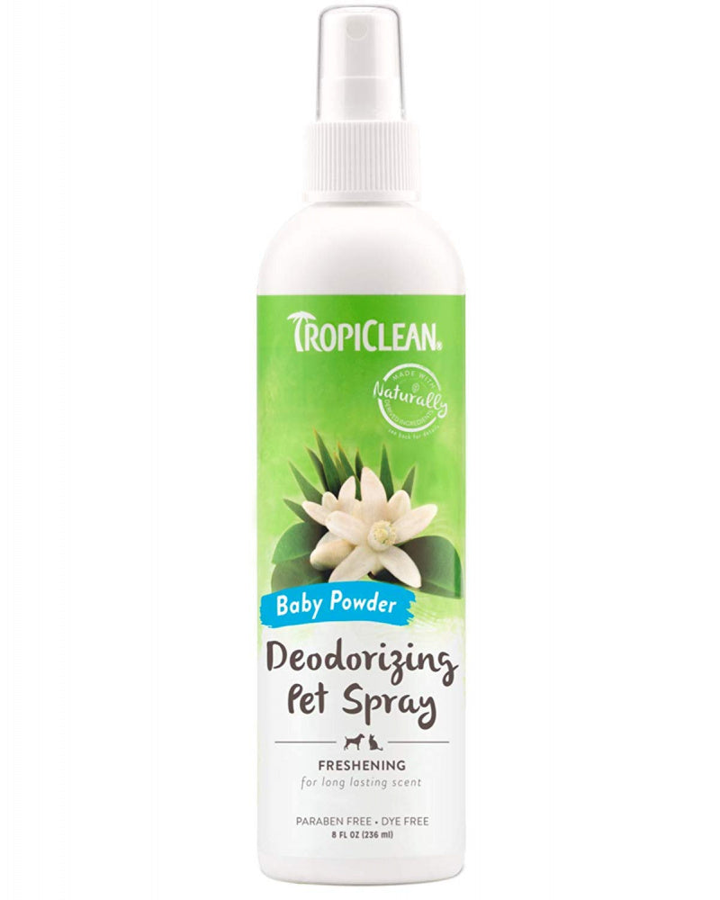 Tropiclean Baby Powder Pet Spray
