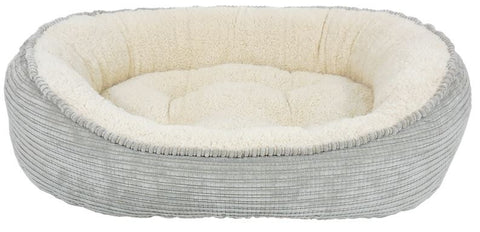 Arlee Pet Products Cody The Original Cuddler Silver Pet Bed