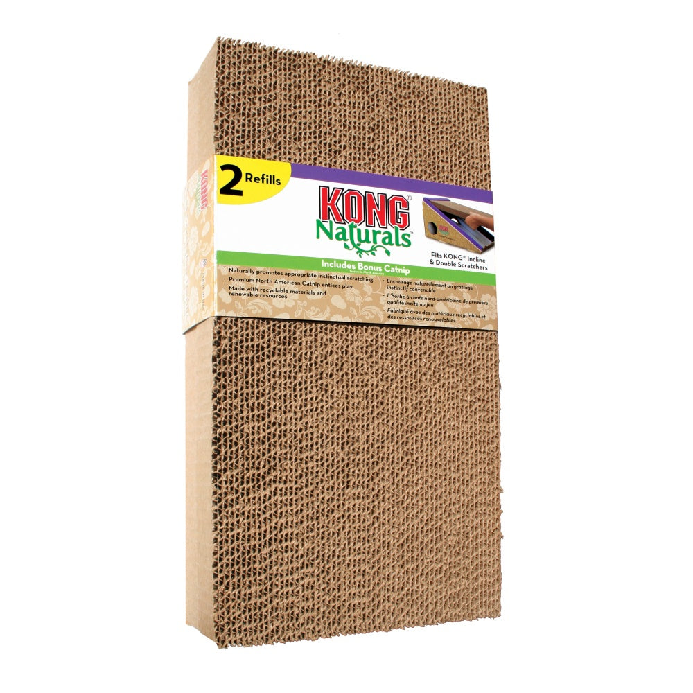 KONG Cat Scratcher Refill Two Pack