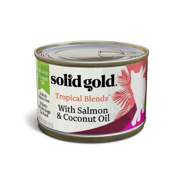 Solid Gold Tropical Blendz Grain Free Pate with Salmon & Coconut Oil Canned Cat Food