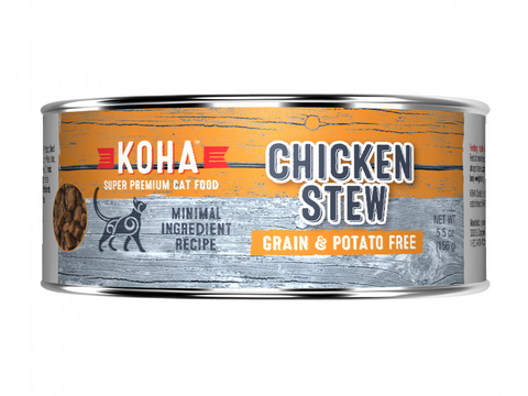 KOHA Grain & Potato Free Chicken Stew Canned Cat Food