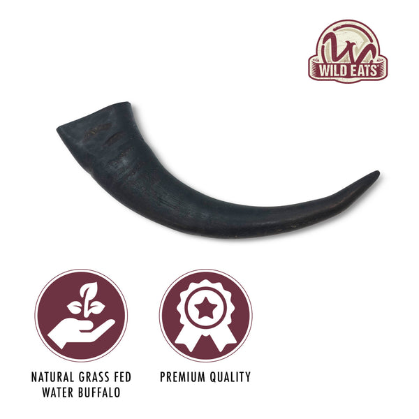 Wild Eats Water Buffalo Horn Dog Chew