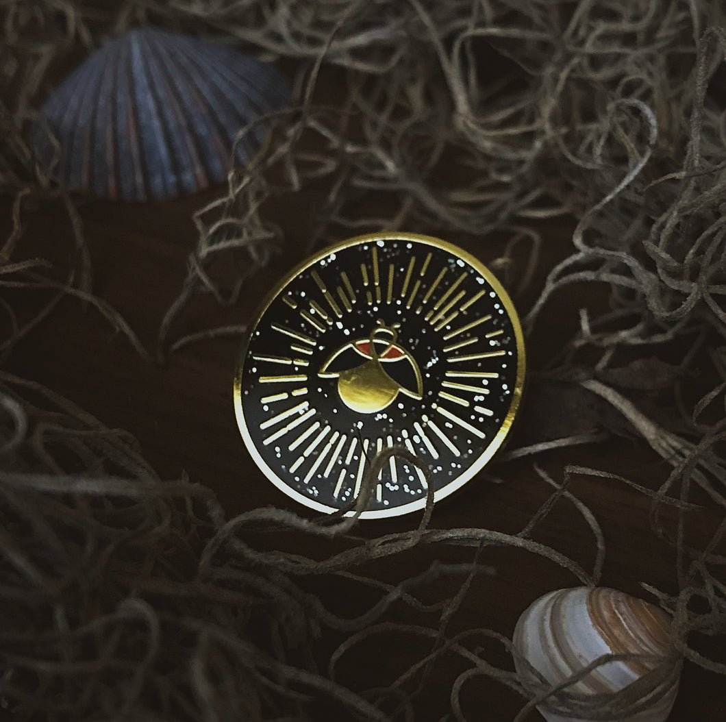 Firefly Nights Enamel Pin