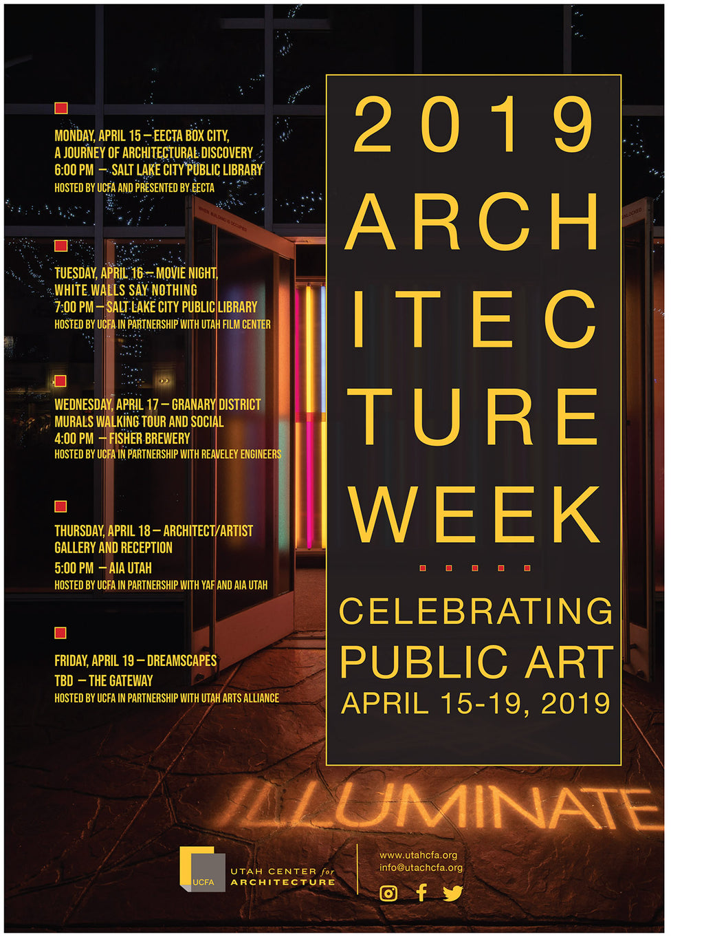 Utah Center for Architecture - Architecture Week