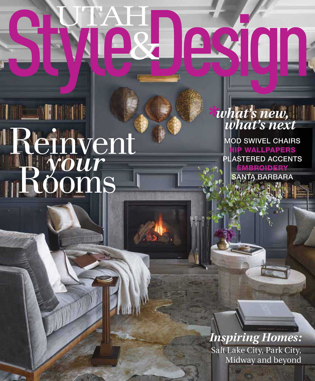 Utah Style & Design winter 2020 cover