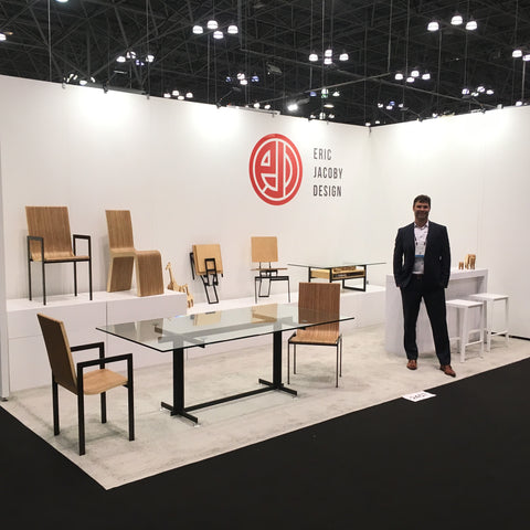 Eric Jacoby Design booth at ICFF 2018