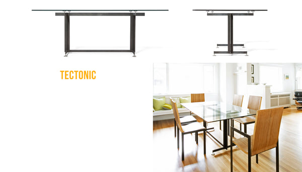 Tectonic Dining Table and Chairs