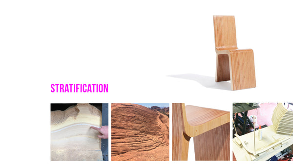 concept and process for designing the Strata Dining Chair