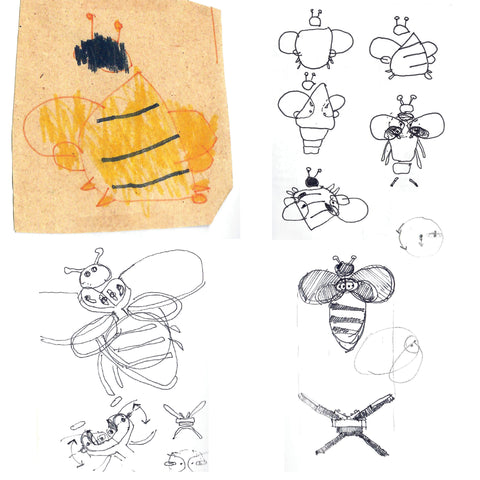 Bee design evolution