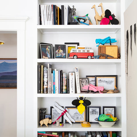 modern toys in modern interior space