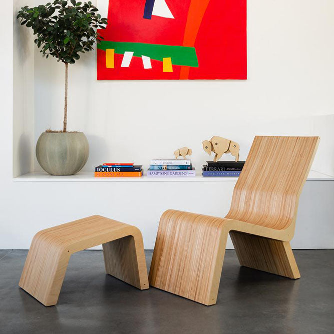 distinguished lounge chair in modern space