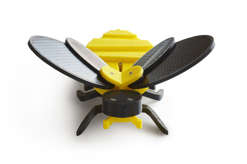 front view of mechanical bee