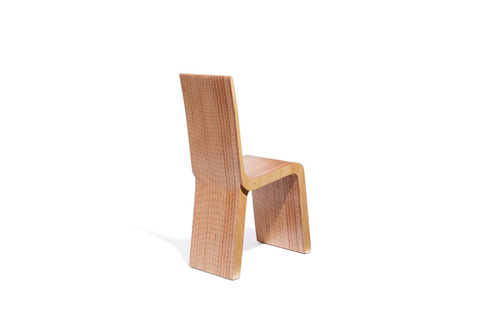 sculptural dining chair