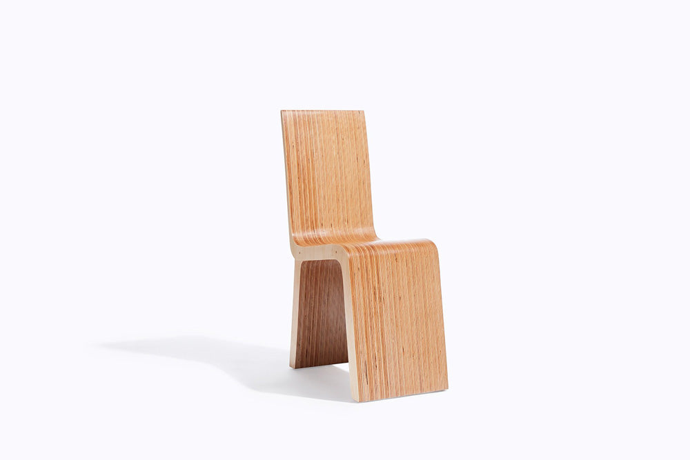 minimal wood chair