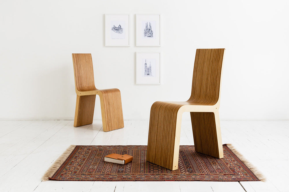 modern, minimal, wood chair