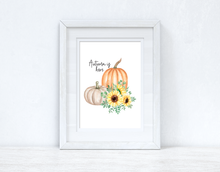 Autumn Is Here Autumn Seasonal Wall Home Decor Print