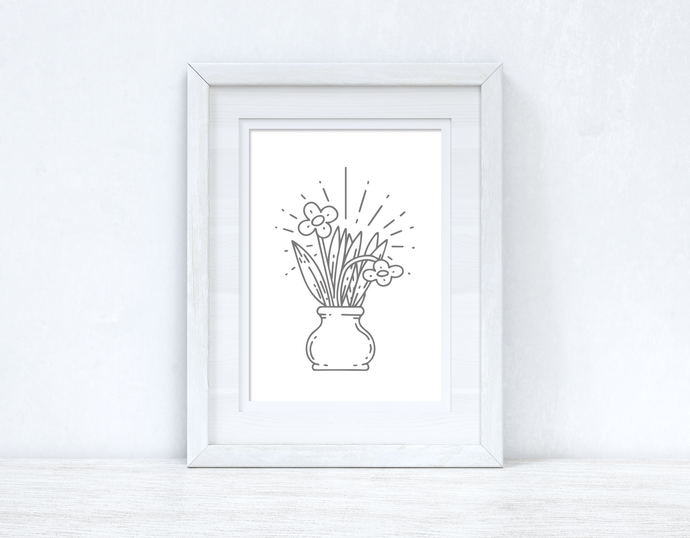 Spring Flowers Spring Seasonal Wall Home Decor Print