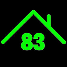 Wheelie Bin Caddy Recycle Home Decor Rooftop House Number Sticker Label