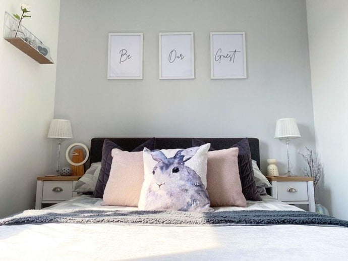 Be Our Guest Simple Set Of 3 Bedroom Prints