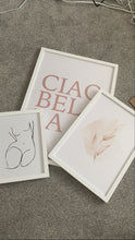 CIAOBELLA CIAO BELLA Nude Pink Dressing Room Simple Wall Decor Print