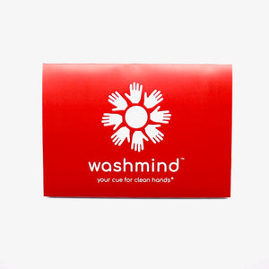 clear washmind travel envelope for kit contents