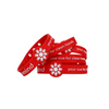 stack of 5 red original washmind bracelets