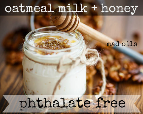 Oatmeal Milk + Honey Fragrance Oil