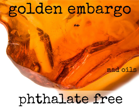 Golden Embargo Fragrance Oil