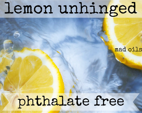 Lemon Unhinged Fragrance Oil