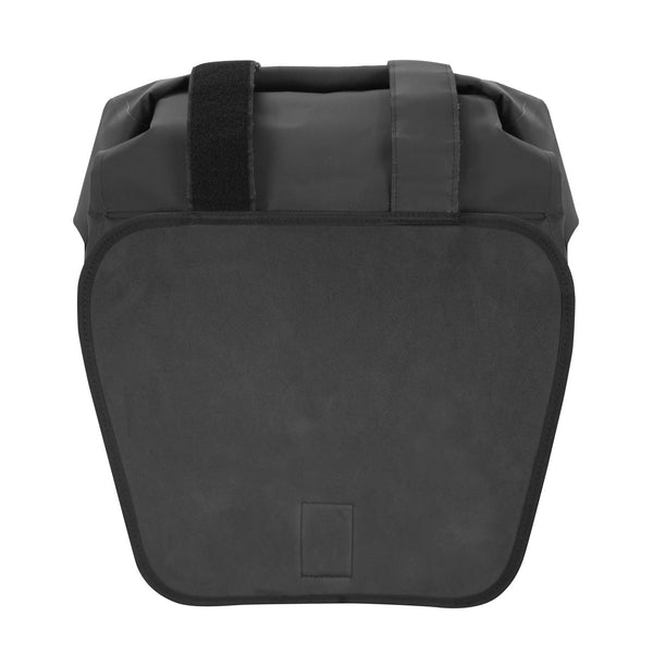 VUZ Moto waterproof motorcycle saddlebag neoprene shield