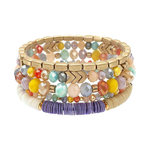Maleri Multi 5 Piece Bracelet Set