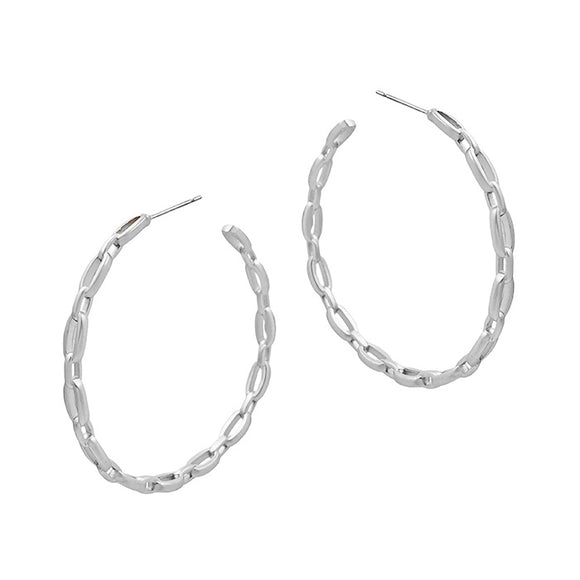 Kira Small Chain Hoops