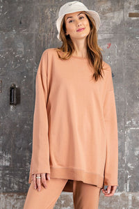 Debbie Terry Knit Top-Rust