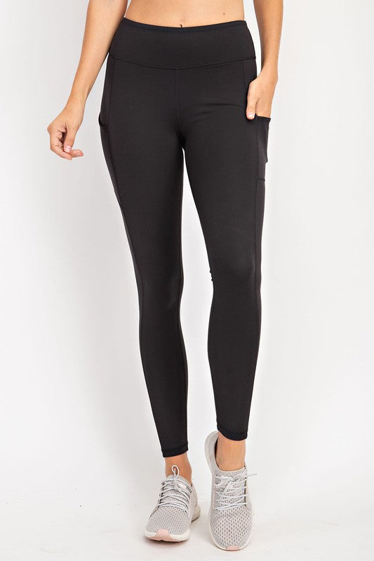 Savanna Side Pocket Leggings-Curvy