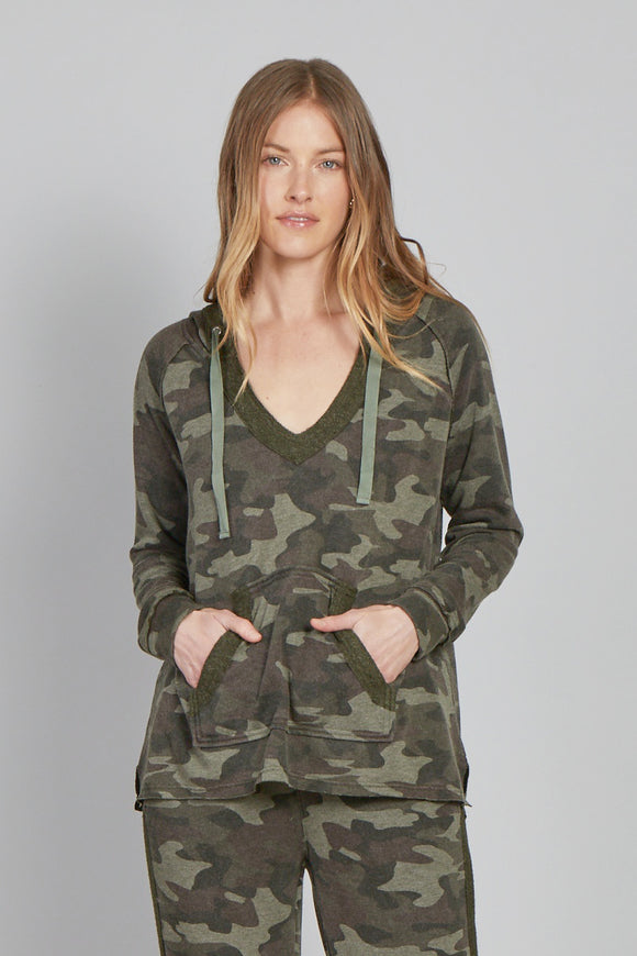 Benson Hooded Sweatshirt-Camo