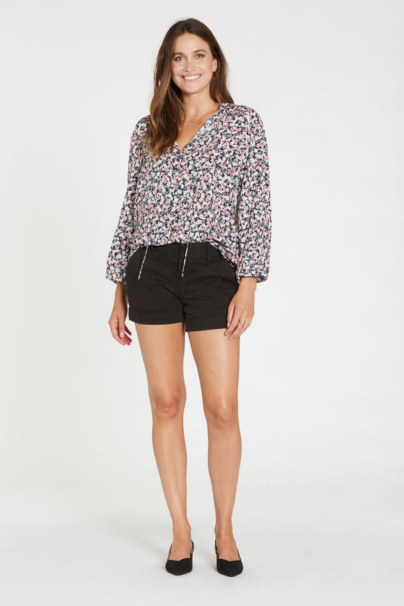 Dear John Hampton Shorts-Black
