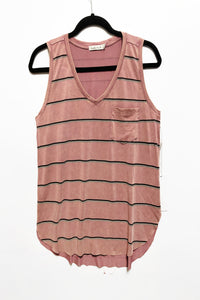 Esther Stripe Pocket Tank