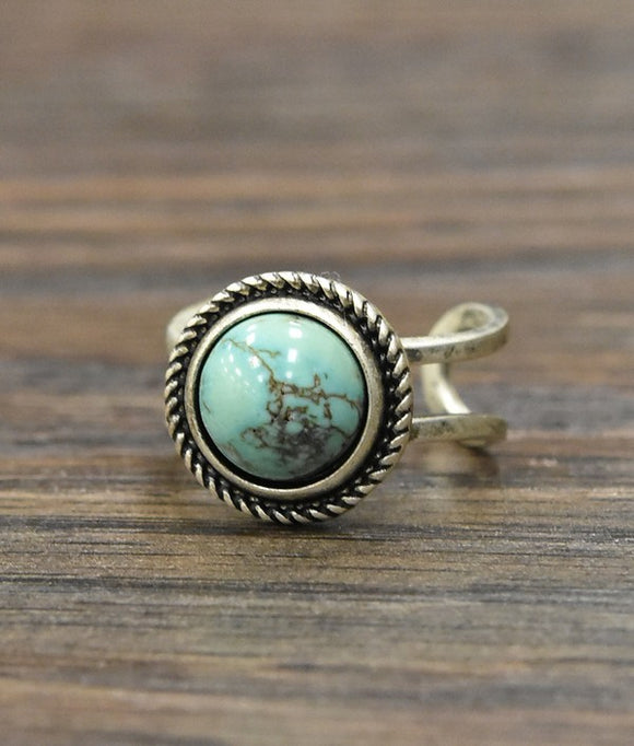 Ana Natural Turquoise Ring
