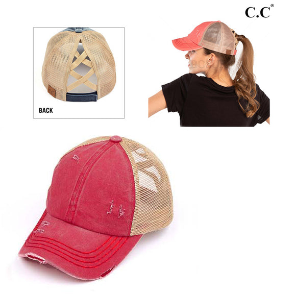 Criss Cross Caps