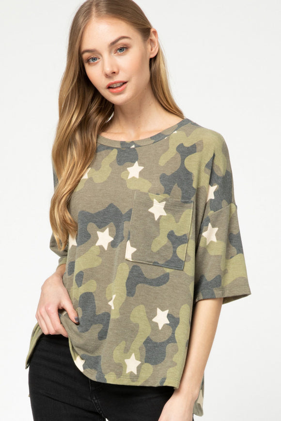Karlie Camo & Star Top