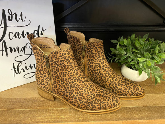 Corkys Neal Leopard Booties