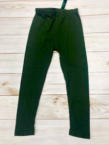 Girls Olive Leggings
