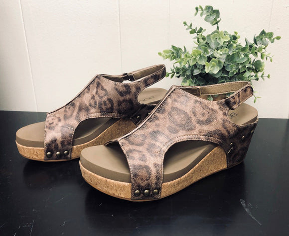 Corkys Carley-Distressed Leopard
