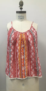 Kennedy Embroidered Cami Top