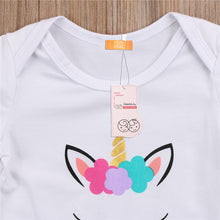 """Unicorn Princess"" Baby Girls Summer Onesie - My Modern Kid"