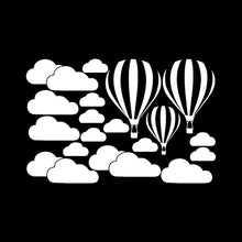 DIY Large Clouds Balloon Wall Decals Children's - My Modern Kid